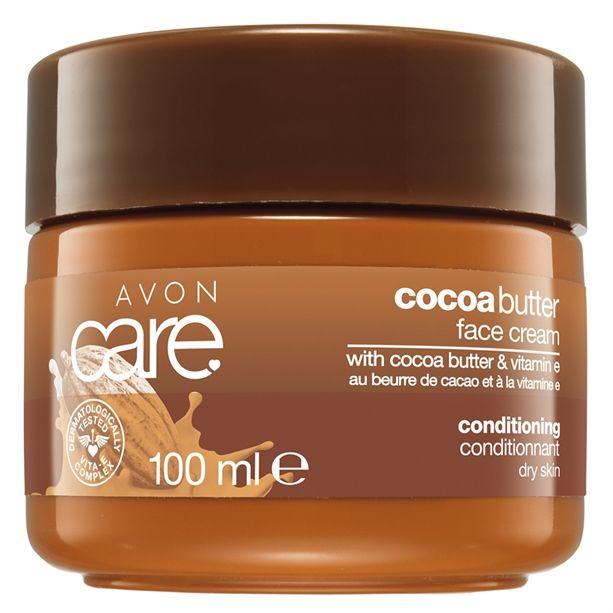 Avon Care Cocoa Butter Face Cream