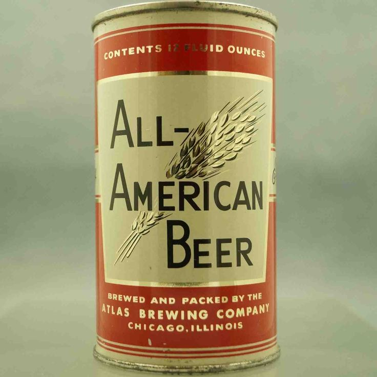 All American Beer , Chicago - 1950 / F.T
