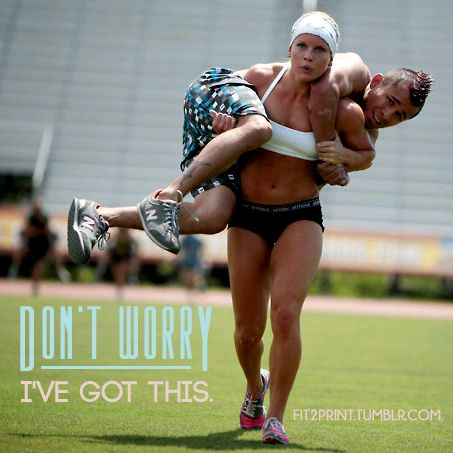 She's totally got it! #Crossfit
