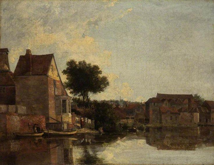 Back of the New Mills, Norfolk - Crome John