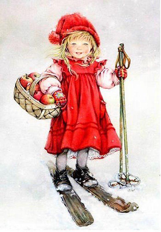 сейчас катя старинные открытки с детками зимой самое интересное