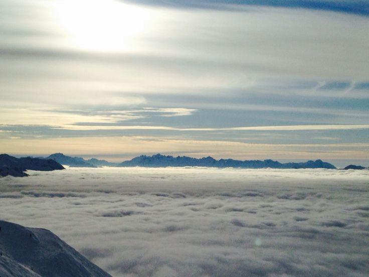 Au dessus des nuages (Les Arcs)