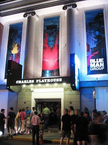 Boston's BlueManGroup at Charles Playhouse