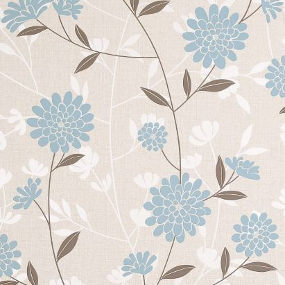 Botanic wallpaper in teal with a textured finish by superfresco colours lounge teal - Teal wallpaper wilkinsons ...