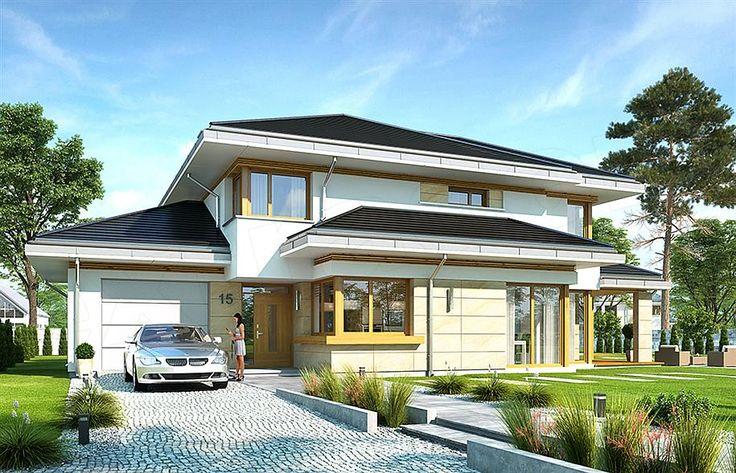 Zdjęcie projektu Dom z widokiem 5 WAH1693