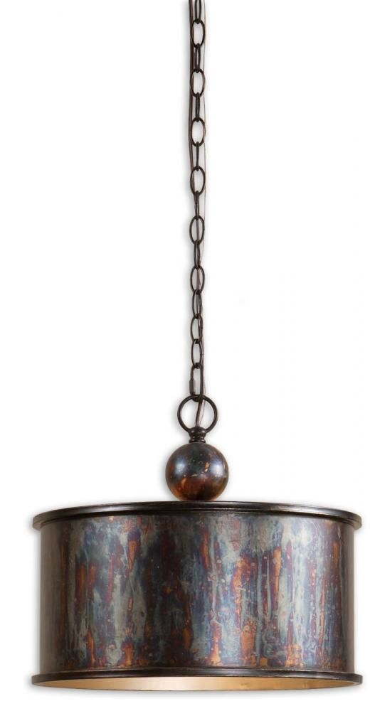 pendant lighting drum shade. Albiano Oxidized Bronze Drum Pendant Light- It Has A Very Artistic, Industrial Look To It. Lighting Shade H