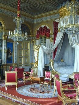 Versailles: Empress Marie Louises bedroom This needs to be MY bedroom. In my HOUSE.  By:Pinterest++ for iPad#