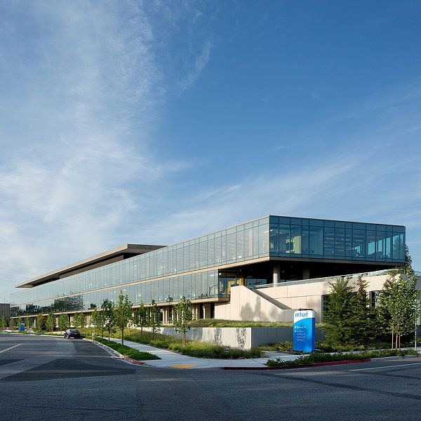 Intuit Marine Way Building By Wrns Studio Clive Wilkinson Architects Facade Architecture Building Architecture Exterior