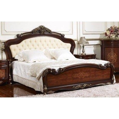 Роскошная#кровать с изголовьем, обтянутым экокожей #мебелинет #mebelinet #мебельмосква #купитьмебель #МиК #мебельмалайзии ↪️ http://magazinmebeli.net/krovati/1678-krovat-amanda-ff6095.html