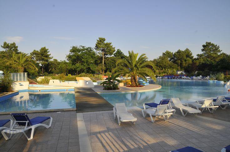 Camping***** Le Sylvamar - Labenne #Camping #Landes #Piscine #Vacances #Relax #Soleil