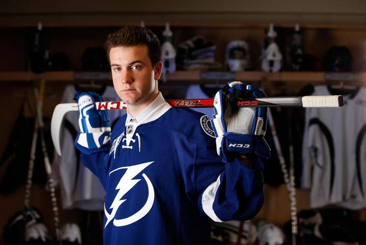 Lightning at the 2012 NHL Draft - 06/23/2012 -  Dylan Blujus