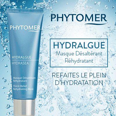 Test produits - Hydralgue Masque Désaltérant Réhydratant de Phytomer - Nous recherchons 50 testeurs ! Posez votre candidature gratuitement.