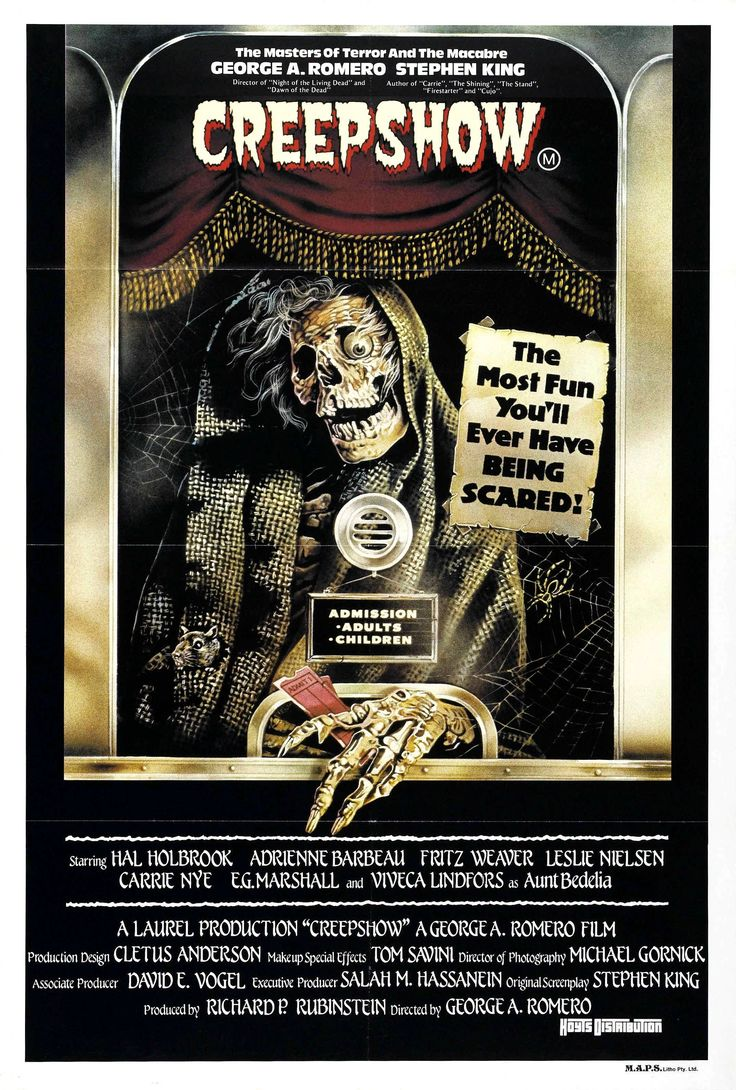 1982 inspired by the ec comics of the 1950s george aromero and halloween moviesscary - G Halloween Movies