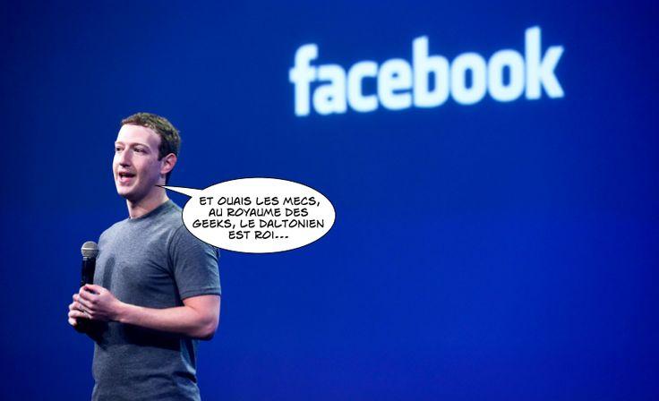 Marc Zuckerberg, créateur et CEO de Facebook