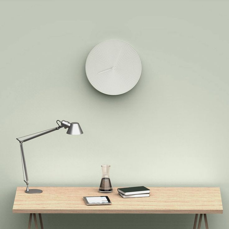 Ring walll clock. Designed by Alessio Romano for Atipico Design for Living. Made in Italy.