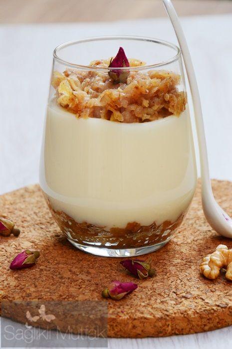 Elmalı,Fındıklı Muhallebi – Sağlıklı Mutfak