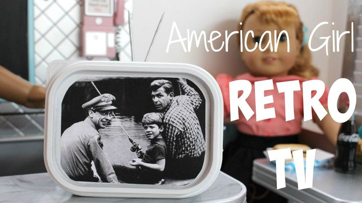 How to make an American Girl Retro TV • Part 7