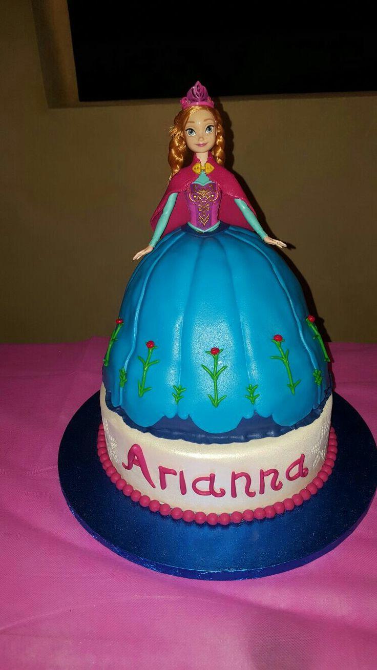 Torta frozen anna cake