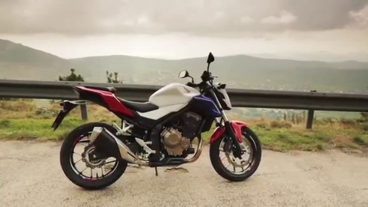 2016 new #Honda CB500F Details Promo Video