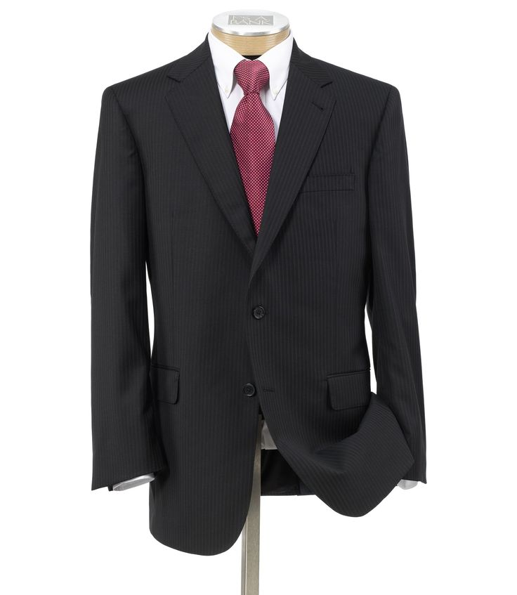 Signature Gold Suit Separate 2-Button Jacket - Big & Tall CLEARANCE