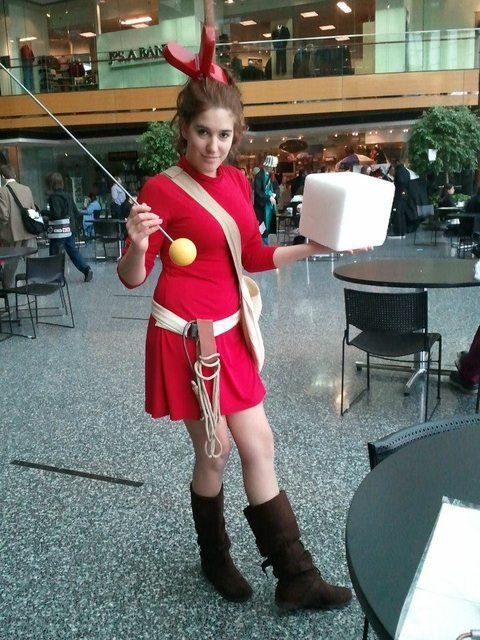 My friend's excellent Youmacon cosplay! Arrietty