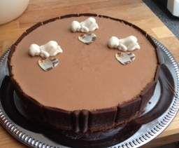 Rezept Schokoladen-Mousse-Torte-Eis von blueturtle - Rezept der Kategorie Backen süß
