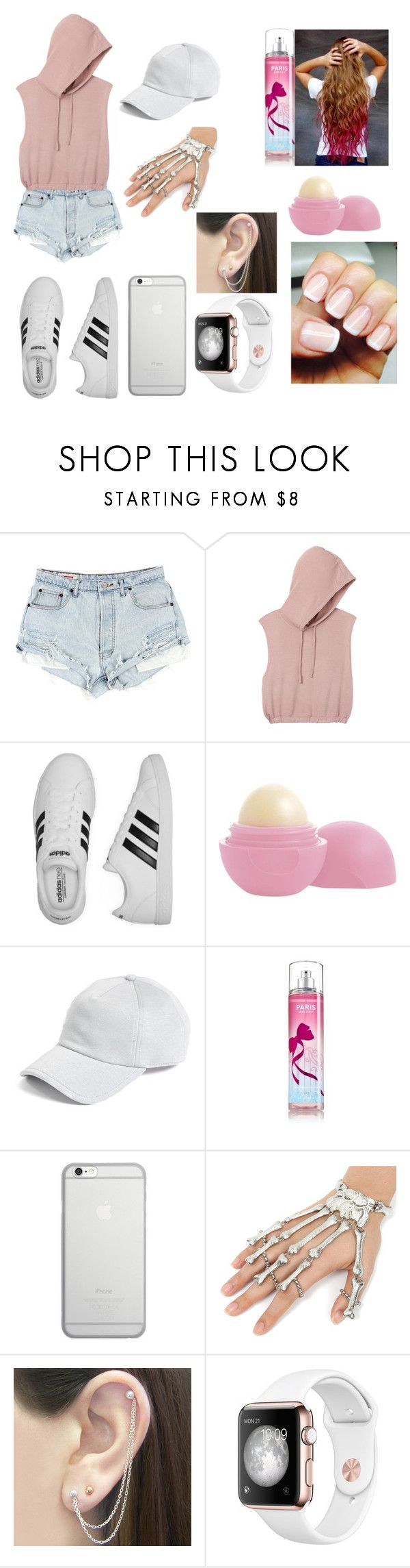 """Untitled #118"" by diamond139 ❤ liked on Polyvore featuring beauty, RVCA, adidas, Eos, rag & bone, Native Union and Otis Jaxon"