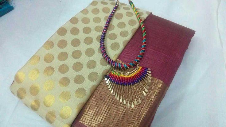 Tussar silk sarees combo set