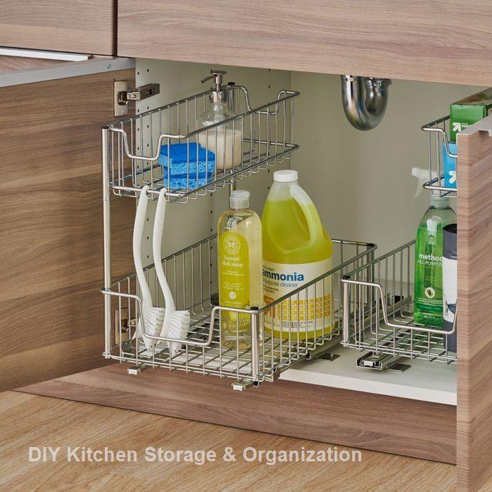 13 Diy Ideas For Kitchen Storage Idee Rangement Cuisine