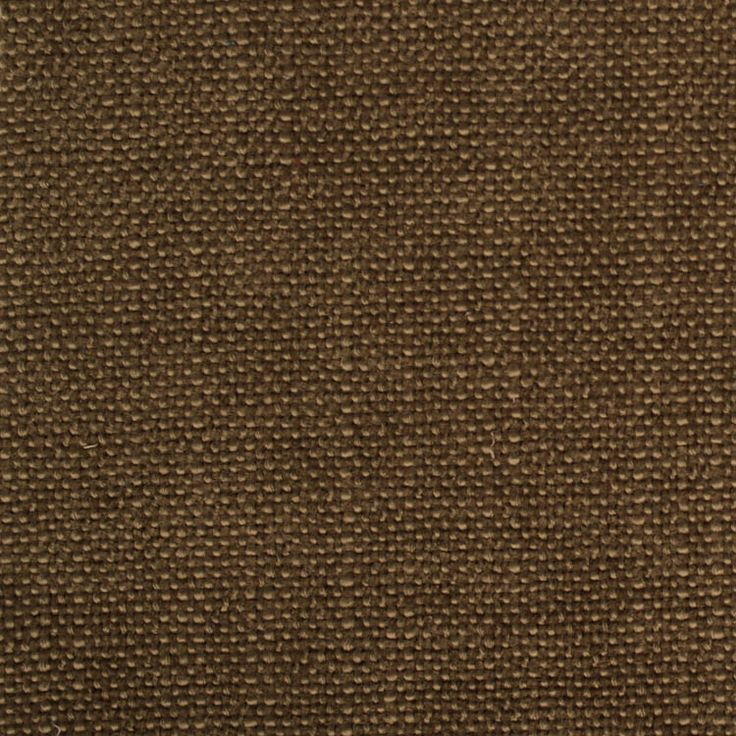 Plain Green Brown Flat-Weave Curtain and Upholstery Fabric | Swale Khaki from Loome Fabrics