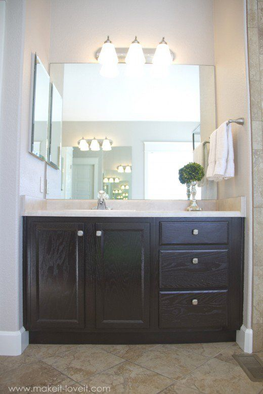 Best 25 Staining Oak Cabinets Ideas On Pinterest Staining Kitchen Cabinets Refinished