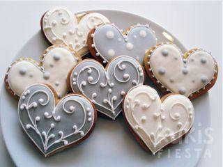 La novia más dulce: Galletas personalizadas