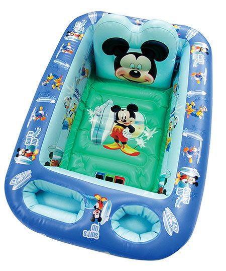 Disney Mickey Mouse Inflatable Safety Bathtub for babys.