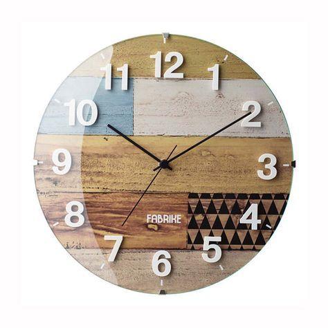 電波時計壁掛け時計【掛け時計Clifden】