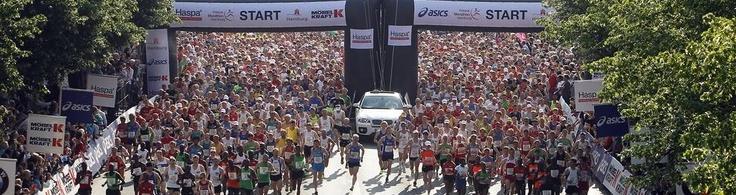 Hamburg Marathon startline - will be there next April!