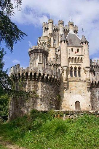 Castillo de Butron, Spain