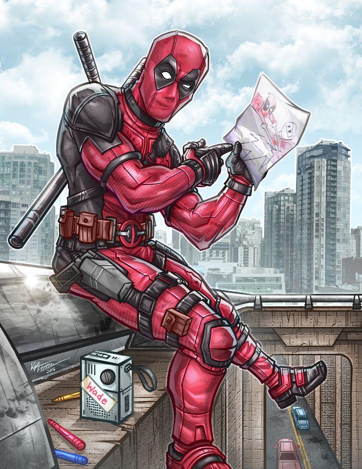 #Deadpool #Fan #Art. (Deadpool Pic) By:Kpetchock. (THE * 5 * STÅR * ÅWARD * OF: * AW YEAH, IT'S MAJOR ÅWESOMENESS!!!™) ÅÅÅ+