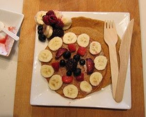 Best Pancakes Ever! they are healthy, filling, delicious and utterly beautiful