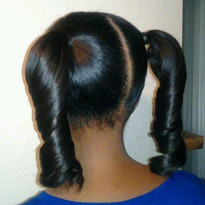 25 unique kid hairstyles ideas on pinterest girl hairstyles smooth pigtails httpblackhairinformationcommunityhairstyle urmus Images