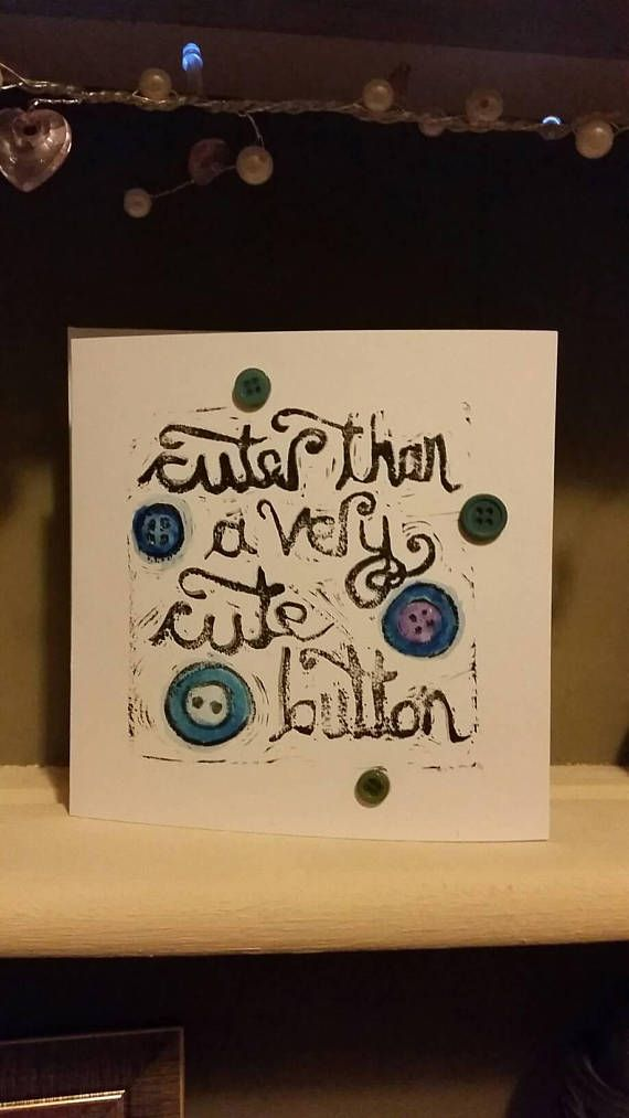 Check out this item in my Etsy shop https://www.etsy.com/uk/listing/533690668/cuter-than-a-button-baby-boy-card