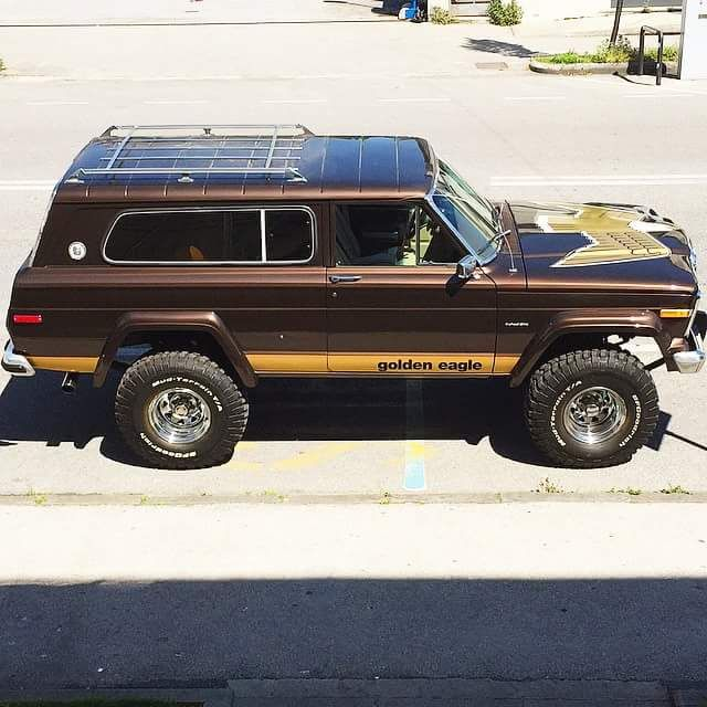 1980 Jeep Cherokee Golden Eagle Jeep Wagoneer Old Jeep Jeep Cherokee