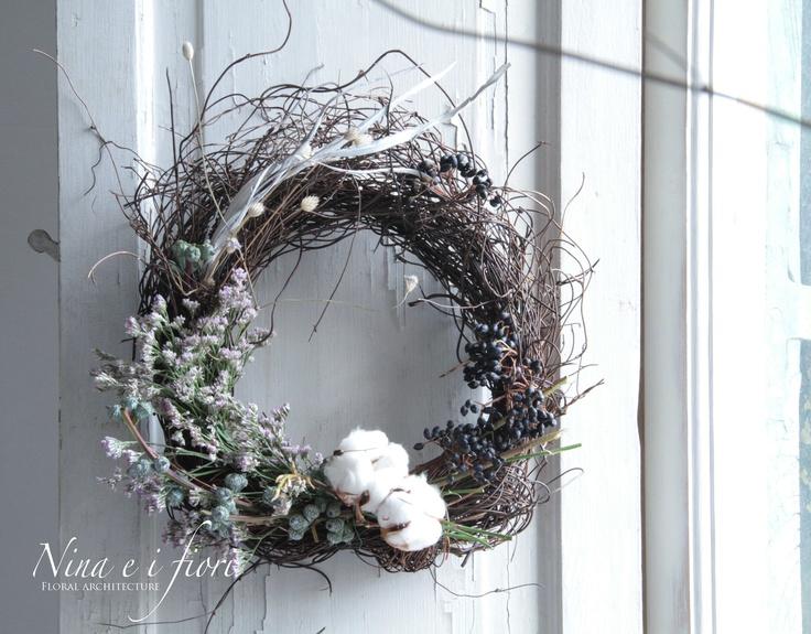 Nina ei Fior i_ Ghirlande _wreaths_ www.ninaeifiori.com