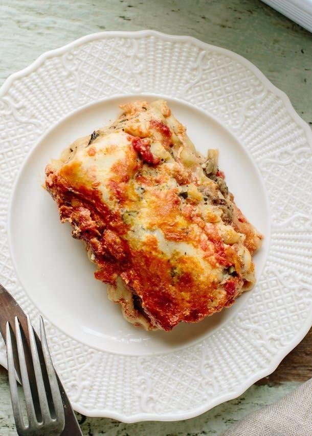 Best 25+ Roasted vegetable lasagna ideas on Pinterest ...