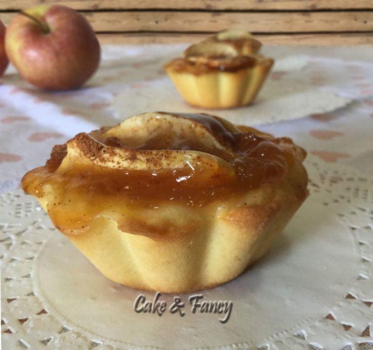 Cestini marmellata mele e cannella - Ricette Blogger Riunite
