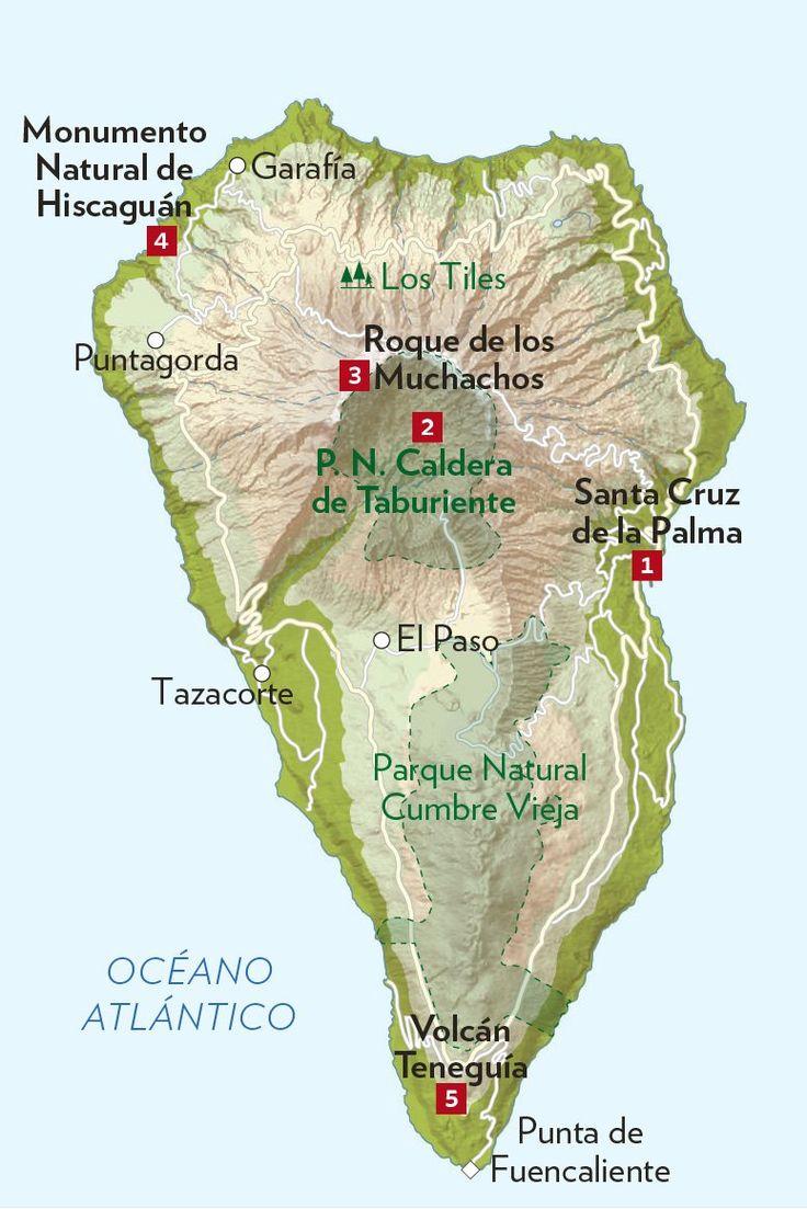 Cinco enclaves imprescindibles en La Palma