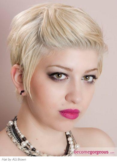 Pull Bangs Back Hairstyles 59175 Short W Bangs Pulled Back