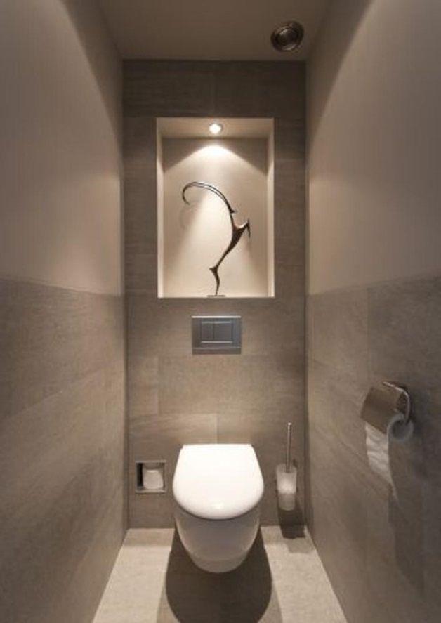 Wc Sans Fenetre Quelle Couleur De Peinture Choisir En 2020 Decoration Toilettes Relooker Wc Designs De Petite Salle De Bains