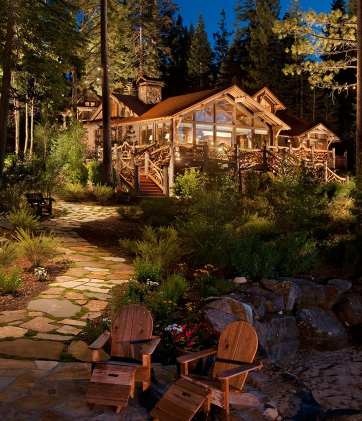 61 best adirondack houses images on pinterest for Adirondack cabin builders