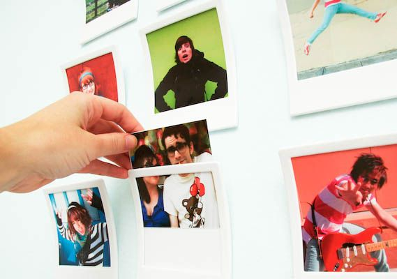 Polaroid Picture Frames