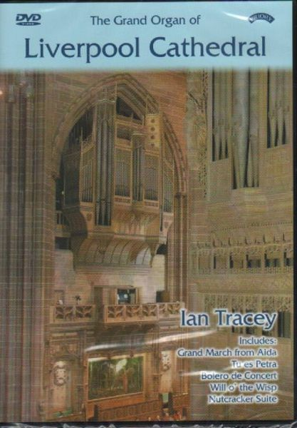 Ian Tracey plays the Grand Organ of Liverpool Cathedral. Contains one DVD and one CD recorded in 5.1 Dolby Surround sound, suitable for all regions. #cd #organmusic #music #iantracey